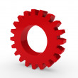 3d gear red — Stock Photo #6768734