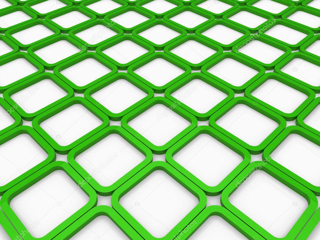 Green Square Wallpaper 3d cube green square b...