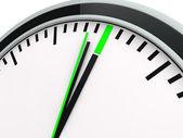 3d time clock deadline — Stock Photo