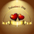 Valentine's day card — Stock Vector #7300619