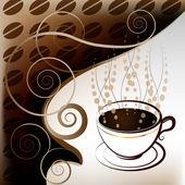Filiżanka kawy — Wektor stockowy