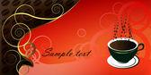 Kahve — Stok Vektör