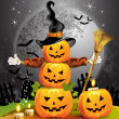 Halloween pumpkin — Stock Vector #7346635