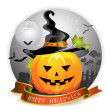 Halloween pumpkin — Stock Vector #7349487