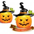 halloween pumpkin — Stock Vector