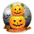Halloween pumpkin — Stock Vector #7349509