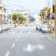 Stock Photo: City life - motion blurred