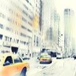 Life at Manhattan — Stock Photo