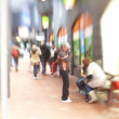 Street life - illustrative, blurred image — Stock Photo #7407590