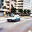 Street life - illustrative, blurred image — Foto Stock