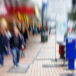 Street life - illustrative, blurred image — Стоковая фотография