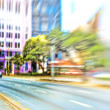 Street life - illustrative, blurred image — Stock Photo #7407925