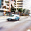 Street life - illustrative, blurred image — Photo