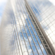 Skyscrapers - lens blurred — Stock Photo