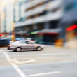 Street life - illustrative, blurred image — Foto de Stock