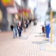 Street life - illustrative, blurred image — ストック写真