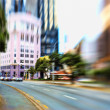 Street life - illustrative, blurred image — Stock Photo #7408115