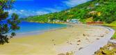 Wonderful beach - New Zealand — Stock Photo