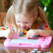 Child draws — Stock Photo #7502301