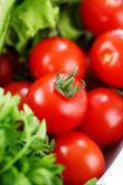 Closeup tomates en ensalada 2 — Foto de Stock
