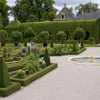 Queen's garden in Paleis Het Loo — Stock Photo