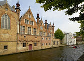 Canal in Brugge — Stock Photo