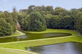 Gaasbeek Castle Park — Stock Photo