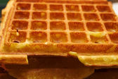 Baking Brussels Waffels - Serie - 5 of 5 — Stock Photo