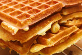 Baking Brussels Waffels - Serie - 3 of 5 — Stock Photo