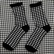 Socks chequered — Stock Photo