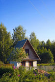 Small rural House. — Stock Photo
