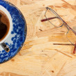 Coffee and glasses — Stock Photo #7491432