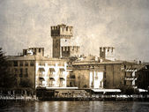 Castello scaligera — Foto Stock