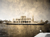 Big Venetian ship — Stock Photo