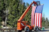 Bandera grande — Foto de Stock