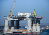 Offshore Drilling Platform — Stock Photo