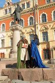 Historia miłości w stylu średniowiecznym — Zdjęcie stockowe