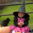 Little witch — Stock Photo #7074925