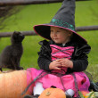 Little witch — Stock Photo #7074932