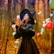Small witch — Stock Photo