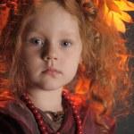 Little girl portrait — Stock Photo #7284616
