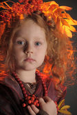 Little girl portrait — Stock Photo