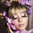 Flower Fairy — Stock Photo