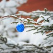 Ball on Christmas tree — Stock Photo #7544371