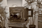 Big old camera — Stock Photo