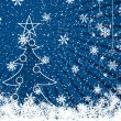 Royalty-Free Stock Vector Image: Blue Christmas background