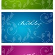 Colorful Birthday Cards — Stock Photo #6806870