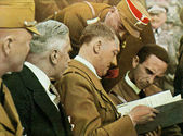 Adolf Hitler and Dr. Goebbels — Stock Photo