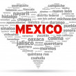 I Love Mexico — Stock Vector