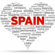 I Love Spain - Stok Vektör
